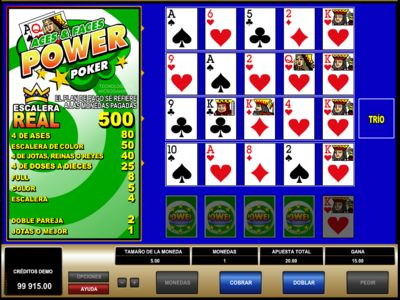 videopoker  Betway